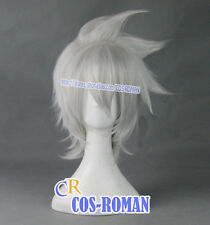 Soul Eater Evans cosplay wig costume Gray white colour 374A