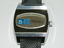 Digital, Automatic, Spring fine ora, jumping Hour, dischi, Orologio, wrist watch