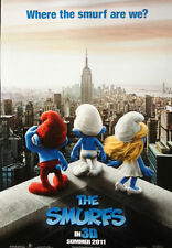 SMURFS Movie Poster - Advance Style Medium Size 11x17 Print ~ Smurfette Papa
