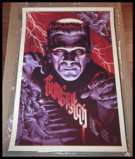 MONDO FRANKENSTEIN PRINT BY MARTIN ANSIN UNIVERSAL MONSTERS BORIS KARLOFF