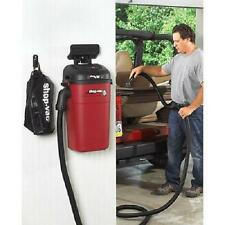 Vacuum Cleaner Wall Mount Hose Wet Dry Upholstery Shop Car Auto Garage Cleaning