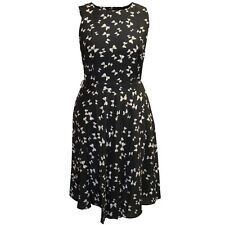 New Ex Dorothy Perkins Bow Print Tea Dress. RRP £32. Size 12