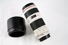 Canon EF 70-200mm f/4 L USM Lens w/ Tripod mount. Non IS. Excellent Condition.