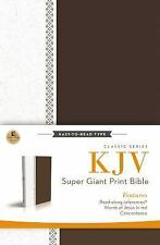KJV, Reference Bible, Super Giant Print, Hardcover, Red Letter Edition (Classic