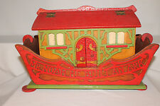 Early Noah's Ark Wooden Toy with Animals, Original