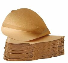 """Unbleached coffee papers - Size Four (4) - cup size 6-8"""" - pack of 100"""