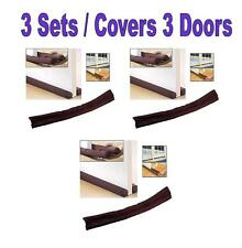 3 Window Door Stopper Dodger Dust Resisted Safety Protector Energy Saving
