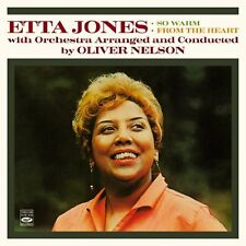 Etta Jones: So Warm + From The Heart (2 Lps On 1 Cd)