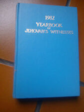 1982 YEARBOOK OF JEHOVAH'S WITNESSES TESTIMONI DI GEOVA IN INGLESE