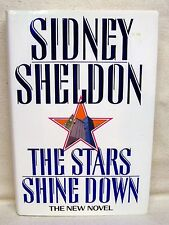 The Stars Shine Down By Sidney Sheldon Used Book Hardback W/Dust Cover