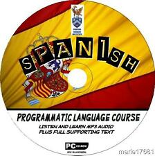 LEARN TO SPEAK SPANISH PCCD LANGUAGE COURSE EASY BEGINNER PROGRAM MP3 + TEXT NEW