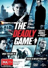 The Deadly Game DVD Region 4 (VG Condition)