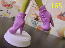 Monster High Dolls Dress Accessories Purple Short Boots Shoes for Kids Gift165#