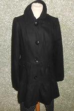 20 50/10 Blend Damen  Winter Mantel Gr. 36  schwarz Wollmantel Neu + Etikett