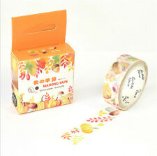 HOT Design 15mm×7M paper Sticky Adhesive Sticker Decorative Washi Tape DYI H-16