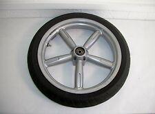 Aprilia Scarabeo front wheel & tire E16 X 2.50 Pirelli Diablo tire 2003 150cc