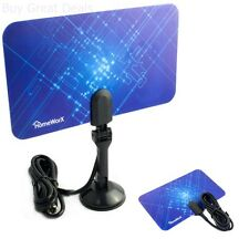 2014 HomeWorx HW110AN Digital/Analog Flat TV HDTV Indoor Antenna UHF VHF Antena