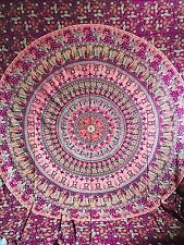 Large Hippie Indian Tapestry Mandala Throw Wall Hanging Gypsy Bedspread Decor UK