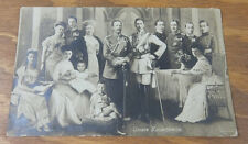 c1912 Real Photo Postcard//OUR IMPERIAL FAMILY, KAISER WILHELM, II