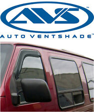 AVS 92077 Tape-On FRONT Windows ONLY Ventvisors 2-Piece 92-99 Ford Full Size Van