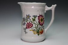 Philippe Deshoulieres Porcelain De Limoges France Pitcher Floral Design