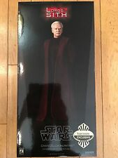 "Sideshow 1:6 Chancellor Palpatine/Darth Sidious Exclusive 2 pack 12"" NEW IN BOX"