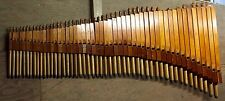 """8' Pilcher Doppleflute Stop Pipe Organ Pipes Complete Stop Tracker 3.5"""" WP"""