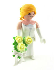 PLAYMOBIL~Dollhouse~Princess~Lady~Bride~Victorian~Yellow Ribbon~Bouquet~Roses~5