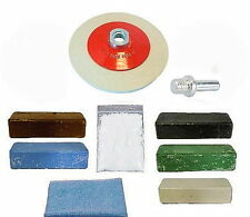 Angle Grinder -  Aluminium, Brass, Stainless, Steel - Metal Polishing Kit