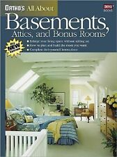 Ortho's All About Basements, Attics, and Bonus Rooms Ortho Books Paperback