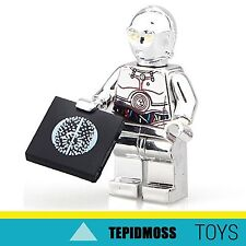 Lego Star Wars TC-14 Chrome Gold Custom Minifig LIMITED NUMBERS