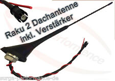 16 v Antenna Tetto Raku 2 II Amplificatore Base Antenna VW Golf Passat Polo