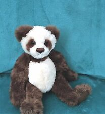 "12"" brown and White Panda by Hermann Teddy Original!"