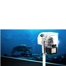 Mini Aquarium Fish Tank Power Filter Waterfall Water Air Pump Hanging Filter