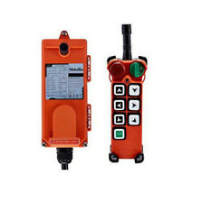 Transmitter&Receiver Hoist Crane Radio Industrial Wireless Remote Control F21 E2