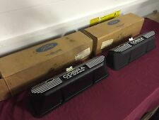 NOS 67 SHELBY 427 428 COBRA LEMANS VALVE COVERS S7MS-6A582-A FORD MUSTANG GT500