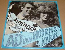 AD VAN HOORN & KARIN - In M'n D.C.10 / Hela, Kom .. ----  TELSTAR TOPPERTJE !!!