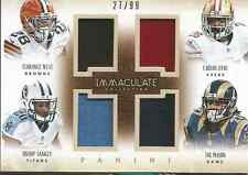 West Sankey Mason Hyde 2014 Panini Immaculate quad jersey card 4-RRB1 /99