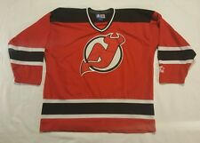 New Jersey DEVILS Red NHL Jersey Adult X-Large STARTER sewn VTG 90s eastern conf