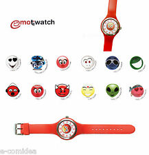 OROLOGIO IN GOMMA EMOTIWATCH EMOTIONS FACCINE I FEEL ANGRY ROSSO