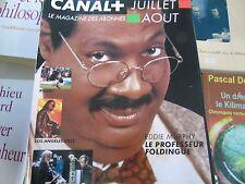 Magazine canal + n°127 1998 le professeur foldingue los angeles 2013 Rock