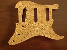 Tooled leather Pickguard for Fender Stratocaster/Strat