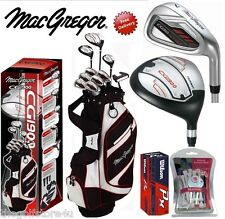 Macgregor CG1900 Mens Complete Golf Club Set New Steel Shafted Irons Stand Bag