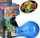 Daylight Blue Incandescent Reptile Terrarium Bulb Zoo Med 25 40 60 100 150 Watt