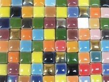 Más De 100 Colores Mezclados 10 X 10 X 4 Mm De Cerámica Azulejos de mosaico.