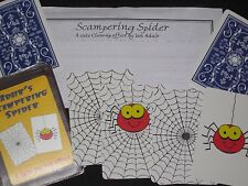 Adair's Scampering Spider Magic Trick - Close-Up, Playing Cards, Pocket Magic