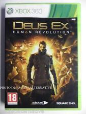 OCCASION complet jeu DEUS EX HUMAN REVOLUTION xbox 360 game francais action #