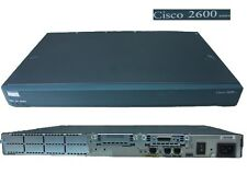 ROUTER MODULARE CISCO 2600 Series - Model 2610 XM - 100MBPS