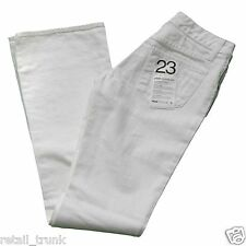 WHOLESALE LOT 35 Pairs of Paperdenim&Cloth White Denim Jeans Size 23