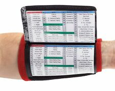WristCoaches.com 3-Pocket Football Wrist Coach Youth Wristband Quarterback Plays